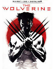 The Wolverine (Blu-ray/DVD, 2013, 2-Disc Set, Includes Digital Copy With Movie C