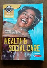 Health and Social Care Diploma: Candidate Book: Level 2 (Work Based Learning L2.