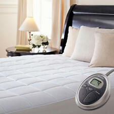 Sunbeam Premium Quilted Heated Mattress Pad