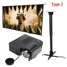 119'' Manual Pull Down Projector Screen Home Theater Movie FULL SET