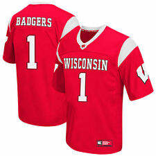 Wisconsin Badgers Colosseum Big & Tall Football Jersey - Red - College
