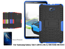 Heavy Duty Kickstand case/Screen Protector For Samsung Galaxy Tab A 2016 (10.1)