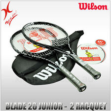 WILSON TENNIS RACQUET - BLADE JUNIOR 25 - 26 - CHOOSE SIZE AND QUANTITY