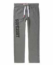 New Mens Superdry Lite Joggers Dark Marl