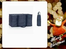 Thirty One Large Utility Tote Bottle Thermal Navy Dancing Dot 31 Christmas Gifts