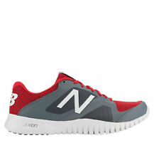 New Balance Shoes Mens 613 Cross Training Athletic Gray Red Casual Lace Sneakers