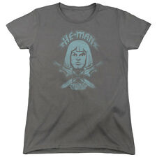 Masters Of The Universe He Man Womens Short Sleeve Shirt