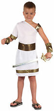Boys Gladiator Costume for Roman Sparticus Centurion Fancy Dress Outfit