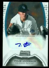2011 Bowman Sterling Prospect Autographs #TA Tyler Anderson Auto