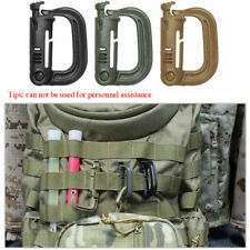 D type Itw grimloc safety molle backpack Vest webbing hanging buckle Hook