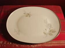 """REDUCED H & C HEINRICH SELB BAVARIA GERMANY ROSE  CHINA OVAL SERVING PLATE13"""""""
