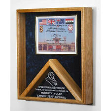 Flag case - Shadow Box Hand Made By Veterans