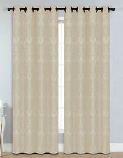 Window Elements Veronica Damask Sheer Single Curtain Panel