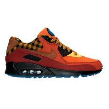 Men's Nike Air Max 90 Premium Running Shoes Cayenne Cognac Gold Many Sizes #750