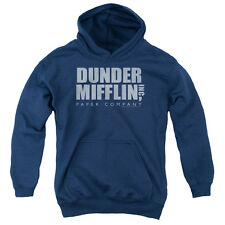 The Office Dunder Mifflin Distressed Big Boys Pullover Hoodie