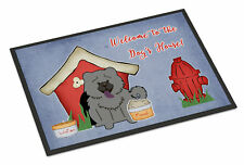 Caroline's Treasures Dog House Chow Chow Doormat