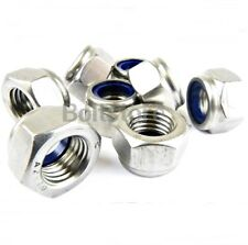 Nyloc Nuts Stainless Steel Lock Nut Nylon Insert A2 M5