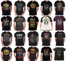 Guns N Roses T Shirt Official Appetite bullet not in this lifetime logo new mens
