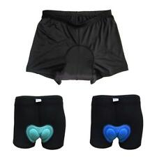 Unisex Outdoor Bike Bicycle Cycling Riding Silicone Padded Shorts Pant Underwear