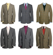 New Fashion Stunning Premium Harris Tweed Wool Jacket Blazer in Various Styles.
