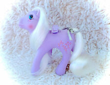 Vintage Forget Me Not G1 1986 My Little Pony Hasbro Original Flutter WITH RIBBON
