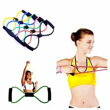 Fitness Equipment Tube Workout Exercise Active Elastic Resistance Band For Yoga