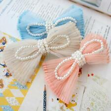 Women Jewelry Korean Style Bowknot Lace Hair Clip Hair Accessories Hairpin