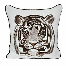 Loom and Mill Animal Heads Tiger Throw Pillow