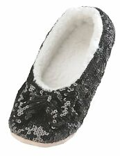 SNOOZIES Brights Bling Ballerina Sequin Slippers