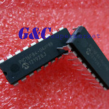 PIC16F84-04/P PIC16F84 MICROCHIP DIP-18 EEPROM 8-Bit Microcontroller NEW