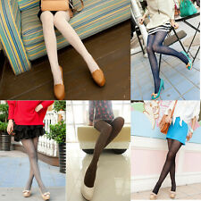 Fashion Women's Tattoo Hosiery Socks Cashmere Footed Pantyhose Stockings Tights