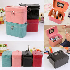 Beauty Make Up Nail Tech Cosmetic Fashion Box Storage Bag Jewellery Vanity Case