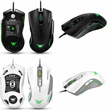 7 Buttons 4800 DPI Adjustable USB Wired CW-10 Gaming Mouse for PC Gamer Pro