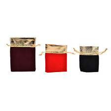 10 PCS New Velvet Jewelry Drawstring Gift Bags Pouch Wedding Party Favors WB