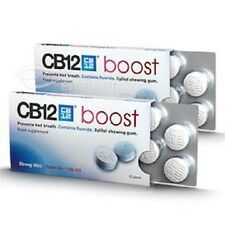 CB12 Boost Sugar Free Chewing Gum - Instantly Prevents Bad Breath NEW!
