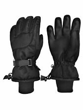 NICE CAPS Mens Womens Extreme Cold 80 Gram Thinsulate Waterproof Ski Snow Gloves