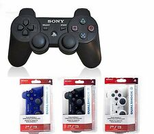 New Original Bluetooth Wireless Controller for PS3 - Official Black, White, Blue