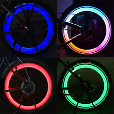 SAFETY BRIGHT BIKE BICYCLE CYCLING CAR WHEEL TIRE TYRE LED SPOKE LIGHT RETRO