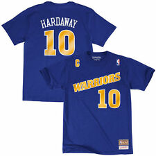 Tim Hardaway Mitchell & Ness Golden State Warriors T-Shirt - NBA