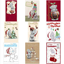 Granddaughter Me to You Bear Christmas Cards