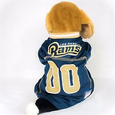 Los Angeles Rams Dog Jersey NFL Football Officially Licensed Pet Product
