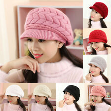 Winter Warm Baggy Beanie Hot Women Ladies Beret Knit Crochet Hat Slouch Ski Cap