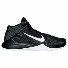 Men's Nike Zoom Ascention Basketball Shoes Black Many Sizes #867 Brand New