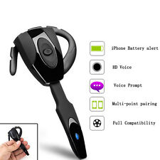 V4.0 Universal Bluetooth Stereo Headset Handsfree For Motorola Mobile Phone US