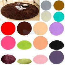 Anti-skid Shaggy Area Rug Living Room Carpet Comfy Bedroom Floor Mat 80cm/100cm