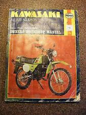KAWASAKI AE / AR 50&80 1981-1984 OWNERS WORKSHOP MANUAL