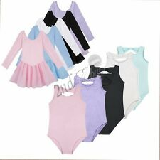 Girls Gymnastics Leotard Ballet Dress Toddler Dance Tutu Skirt Dancewear Costume