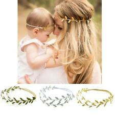 New Mommy and Me Leaf Headband Women Baby Girl Cute Leaves Hair band Photp Props