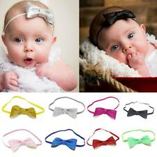 Toddler Girl Twinkle Bow Headband Elastic Hair Band Headwear Photo Prop Headwrap