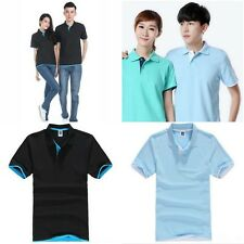 XL 2XL 3XL Casual Mens Short Sleeve Summer Sports Golf Polo T-Shirt Tops 2Colors